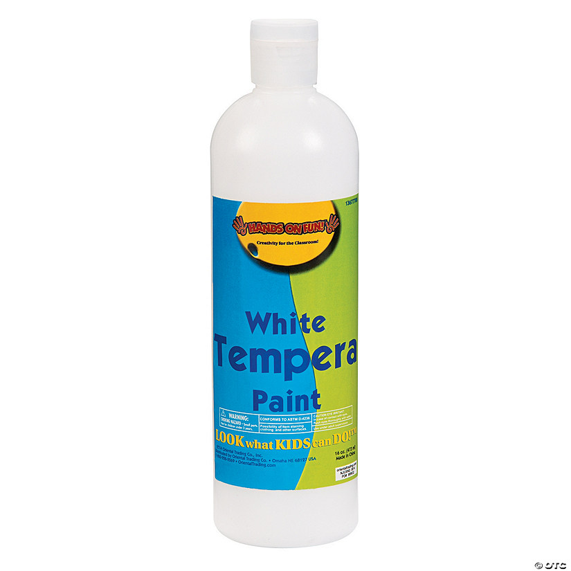 16-Oz. Washable White Tempera Paint Audio Thumbnail