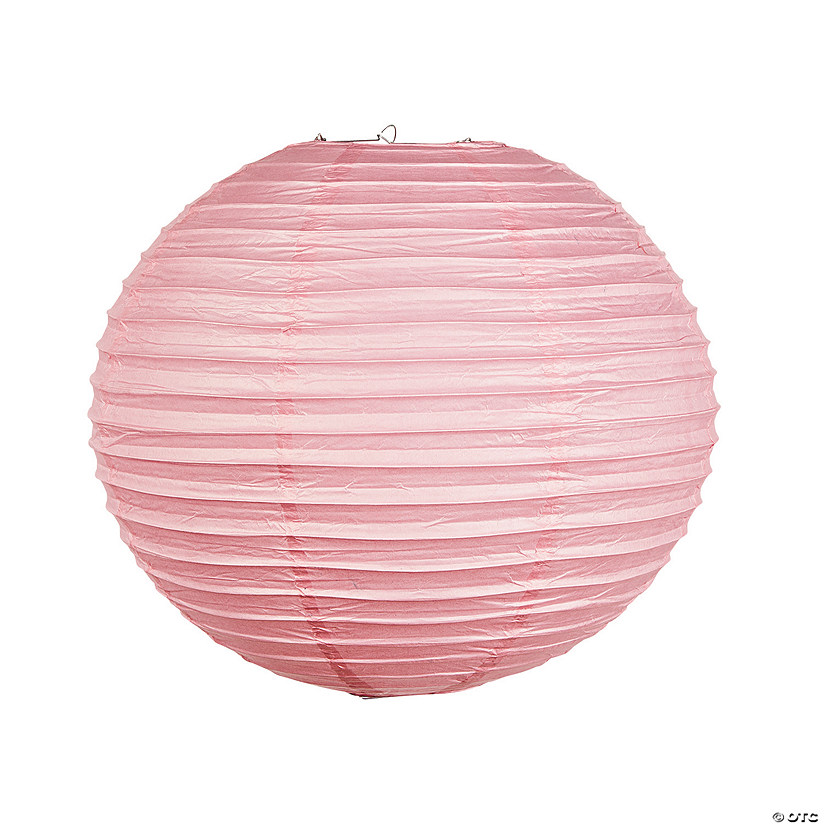 "18"" Pink Hanging Paper Lanterns Audio Thumbnail"
