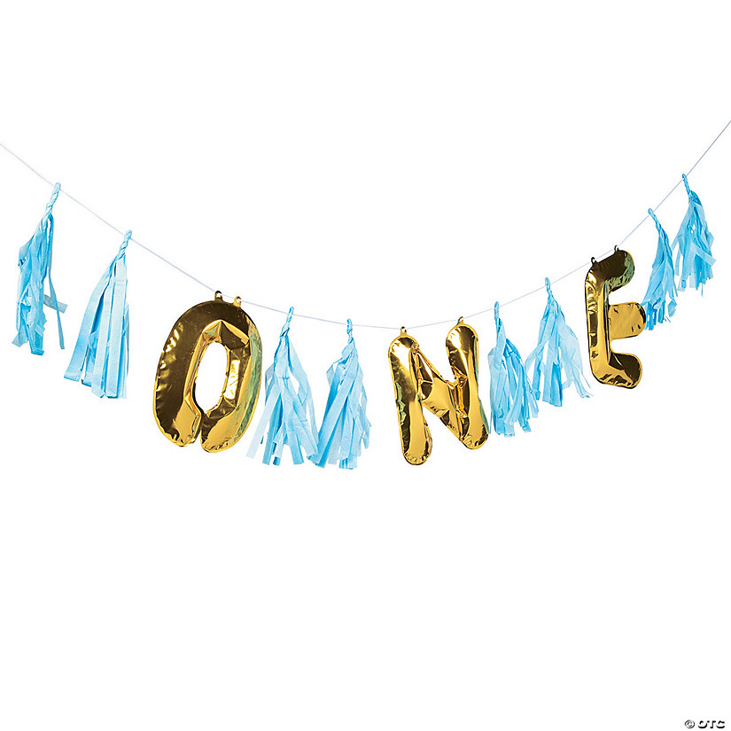 1st Birthday Blue Balloon Garland Audio Thumbnail