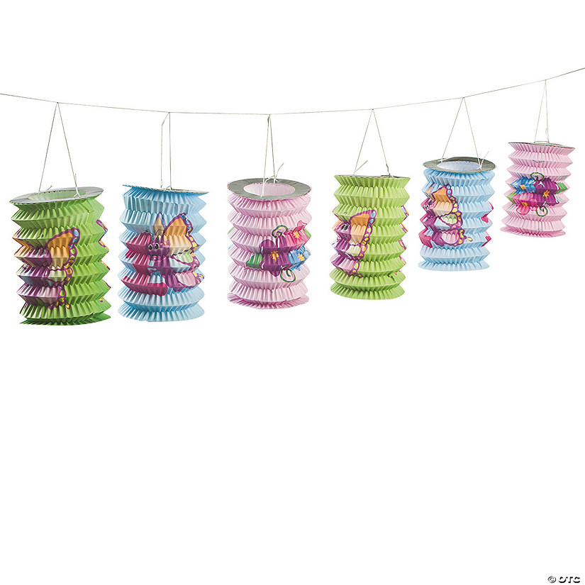 1st Birthday Butterfly Lantern Garland Audio Thumbnail