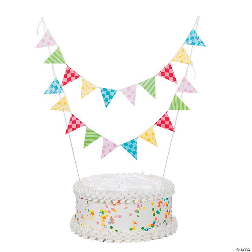 1st Birthday Circus Cake Bunting3 4988