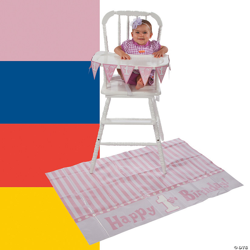 1st Birthday High Chair Decorating Kit Audio Thumbnail