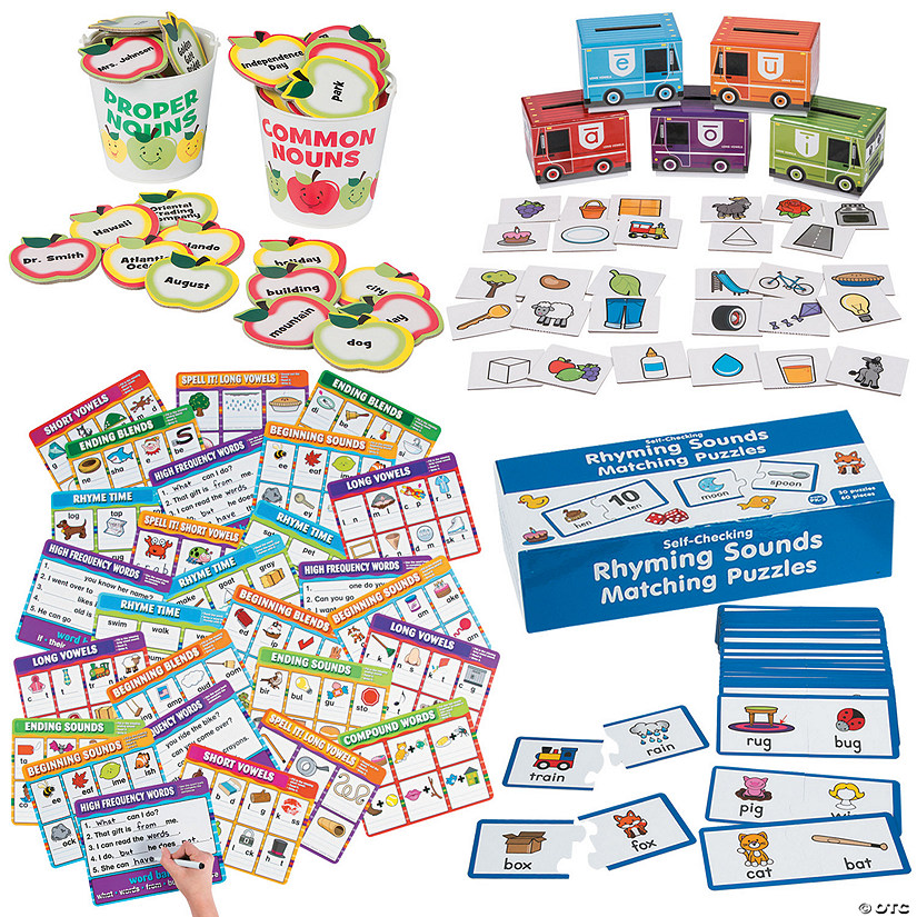1st Grade Language Arts At-Home Learning Kit Image Thumbnail