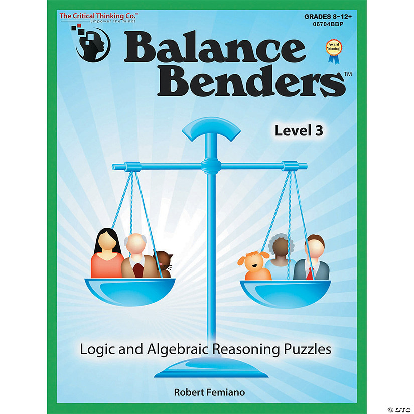 Robert Stones Fun With Problems >> 2 Ea Balance Benders Gr 8 12 Oriental Trading