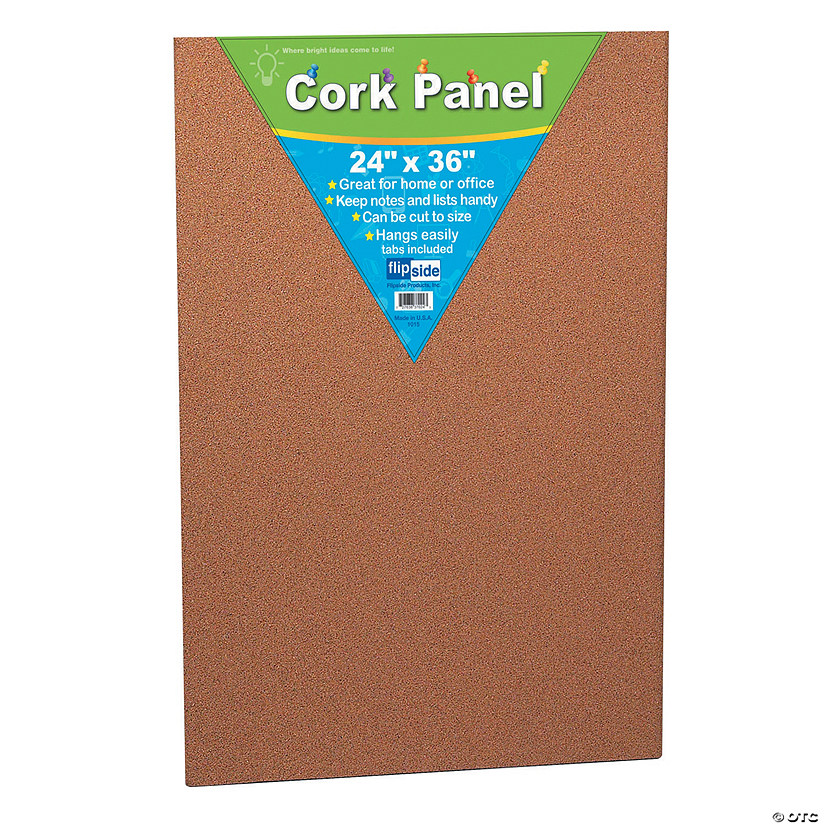 (2 Ea) Cork Panel 24X36In Audio Thumbnail