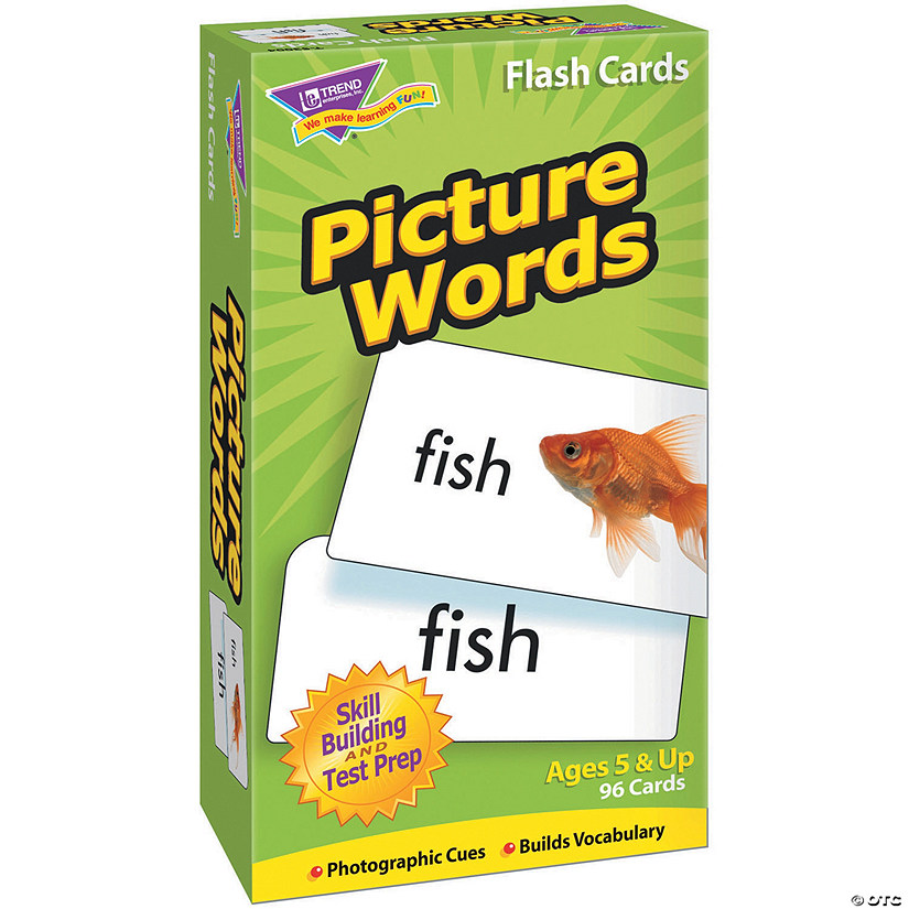 (2 Pk) Flash Cards Picture Words Audio Thumbnail