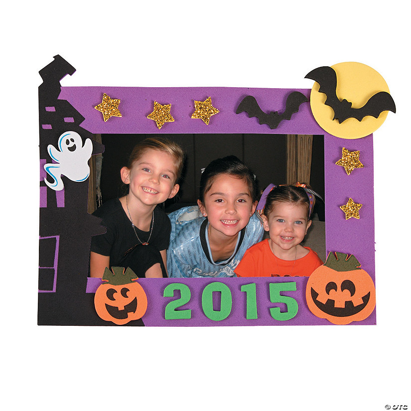 2015 Halloween Picture Frame Magnet Craft Kit Discontinued