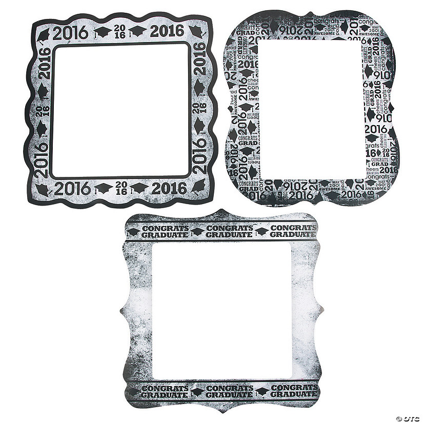2016 Graduation Frame Cutouts Discontinued
