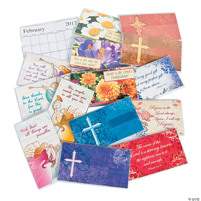 2017 2018 religious pocket calendar assortment