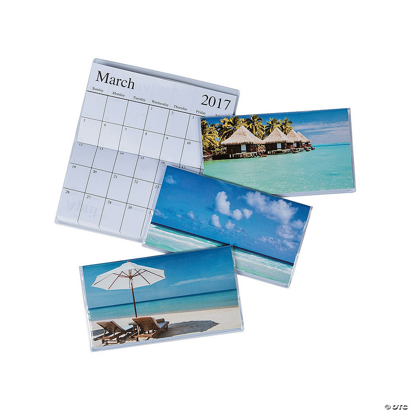 2017 2018 Tropical Pocket Calendars Discontinued