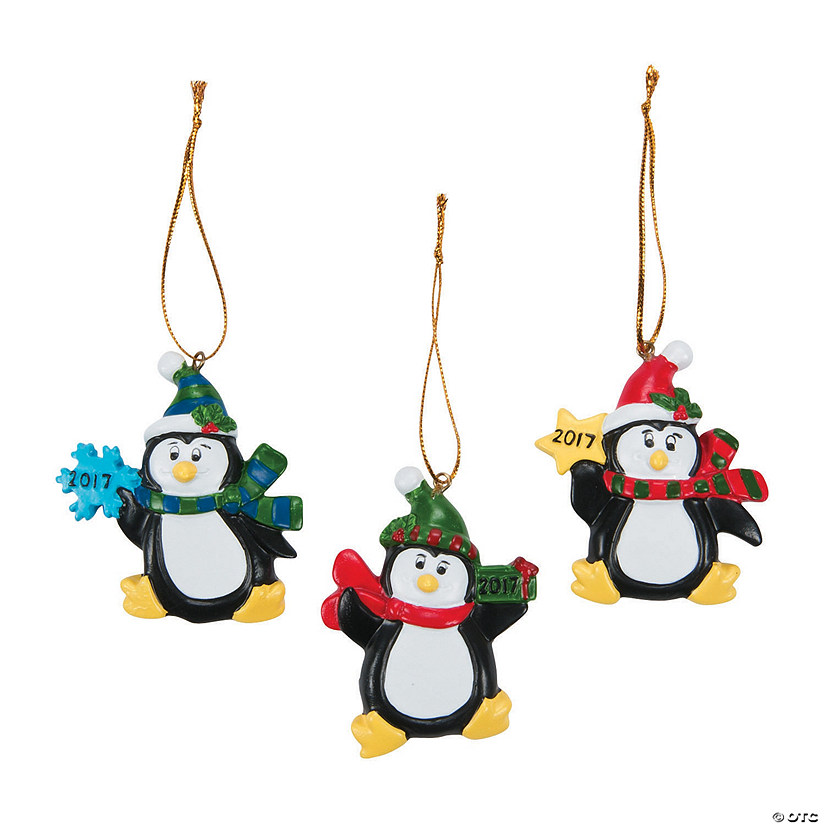 2017 Penguin Ornaments