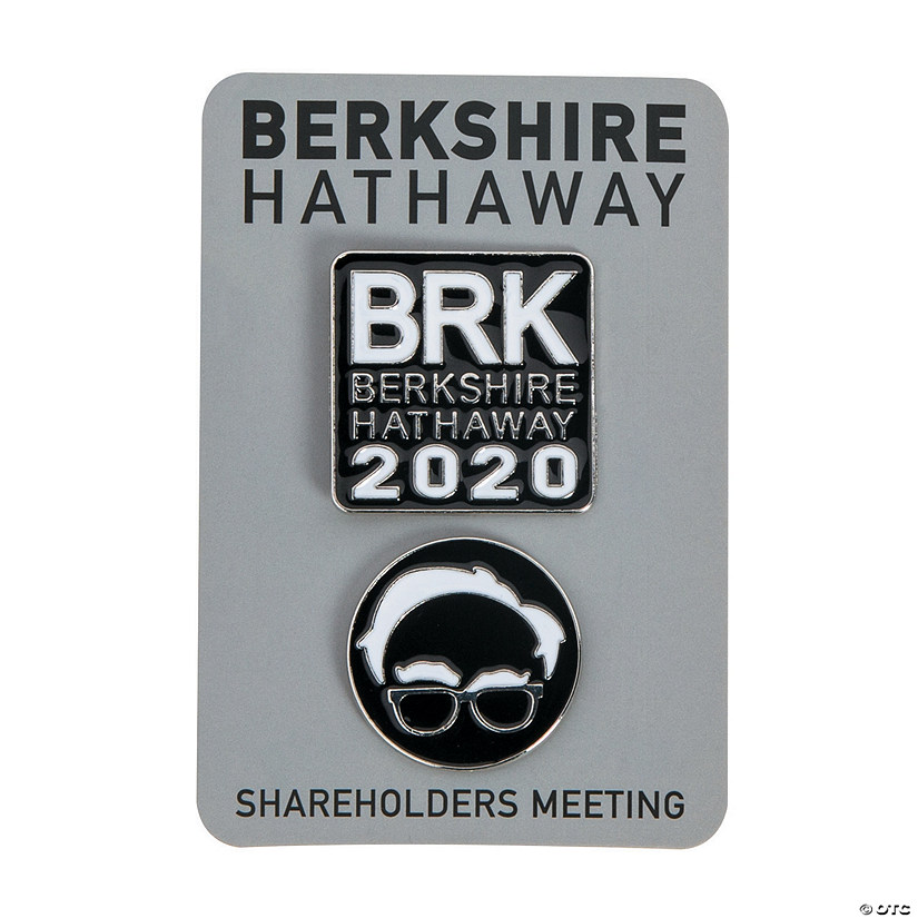 2020 Berkshire Hathaway Collectible Enamel Pins with Card Audio Thumbnail