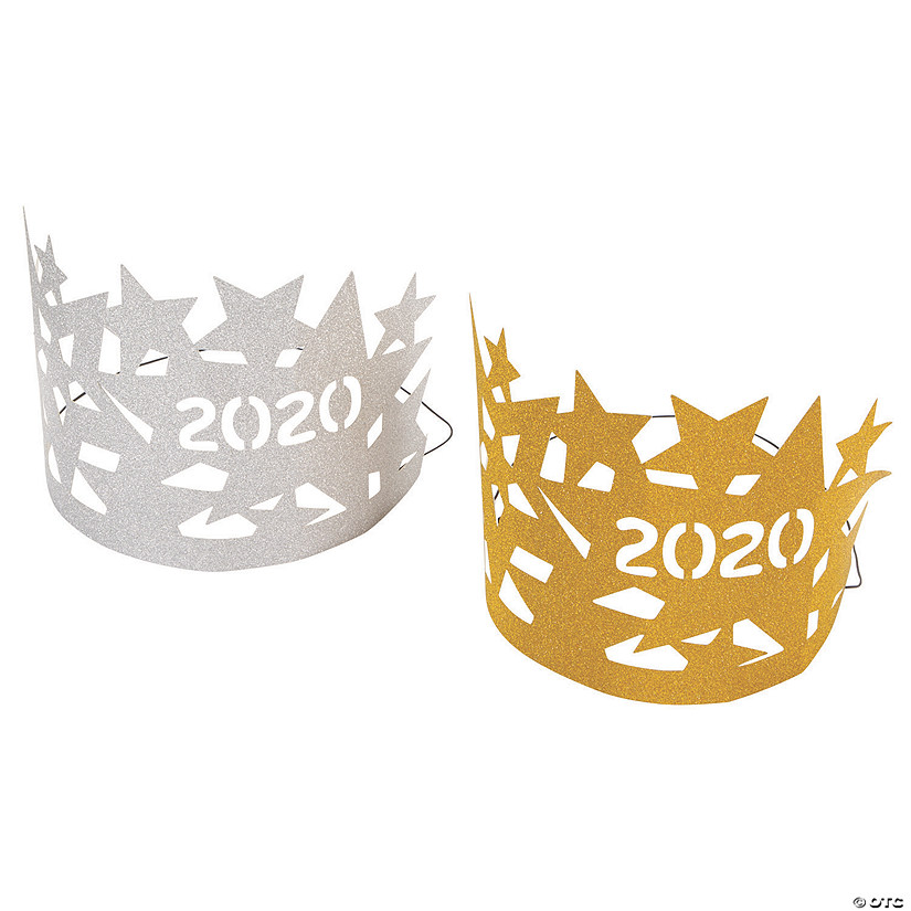 2020 Gold & Silver Glitter Crowns Audio Thumbnail