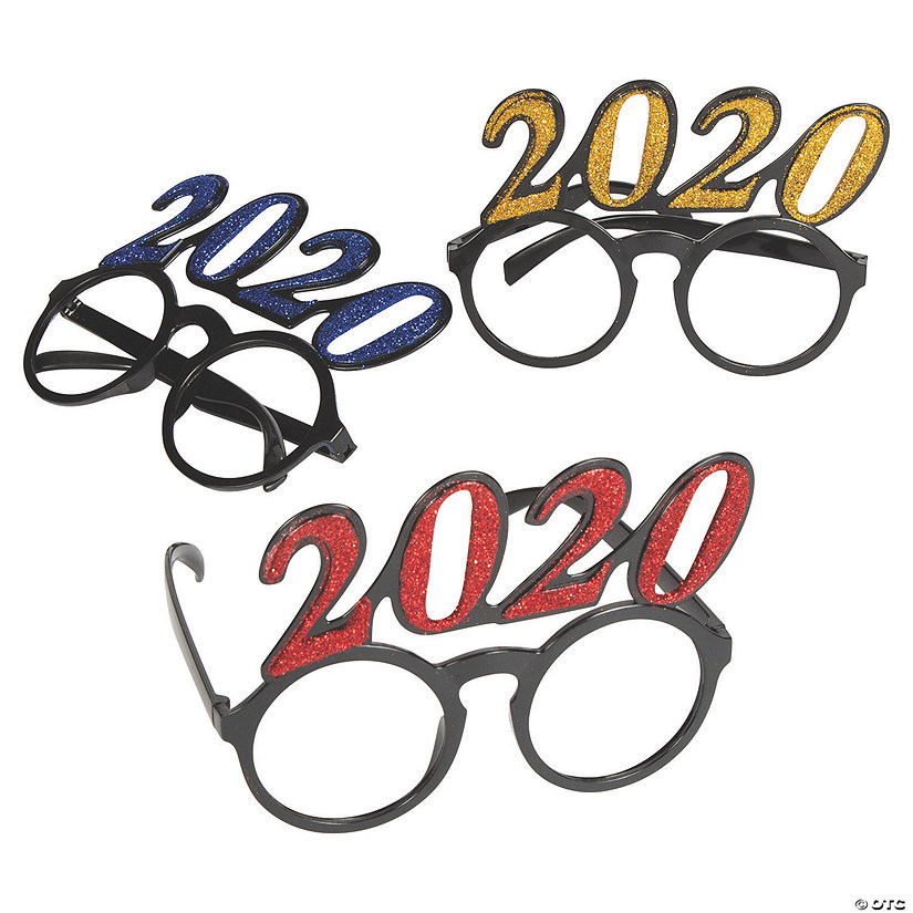 2020 New Year's Eve Circle Glasses Audio Thumbnail