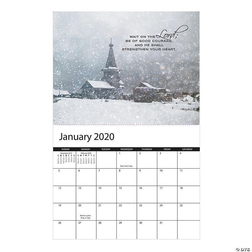 2020 Religious Wall Calendar