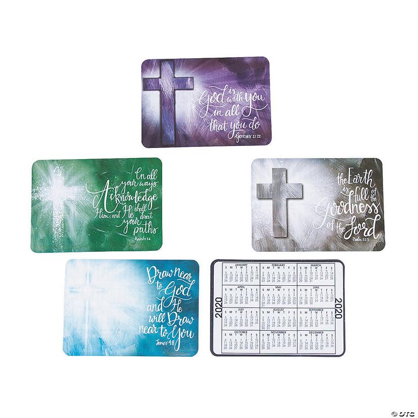 2020 Religious Wallet Card Calendars