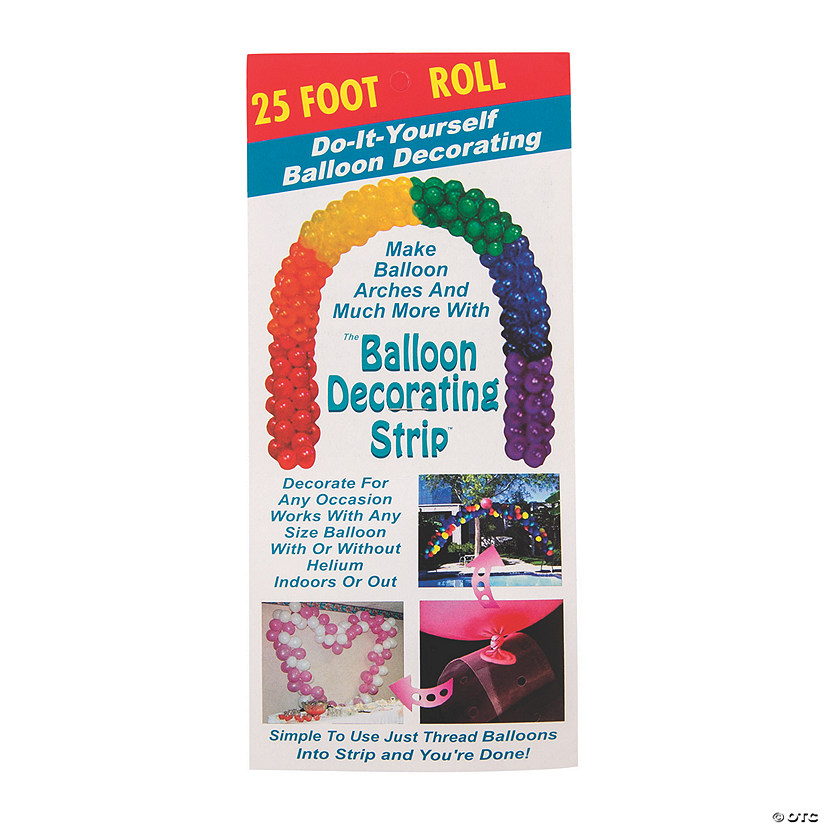 25-Ft. Balloon Decorating Strip Audio Thumbnail