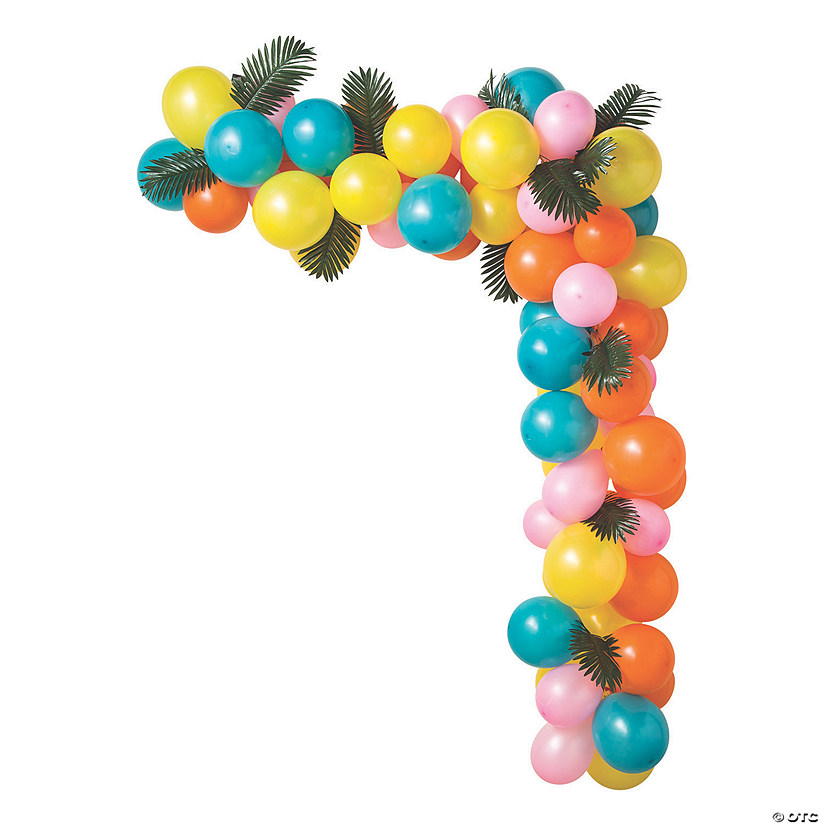 25-Ft. Luau Balloon Garland Kit with Air Pump