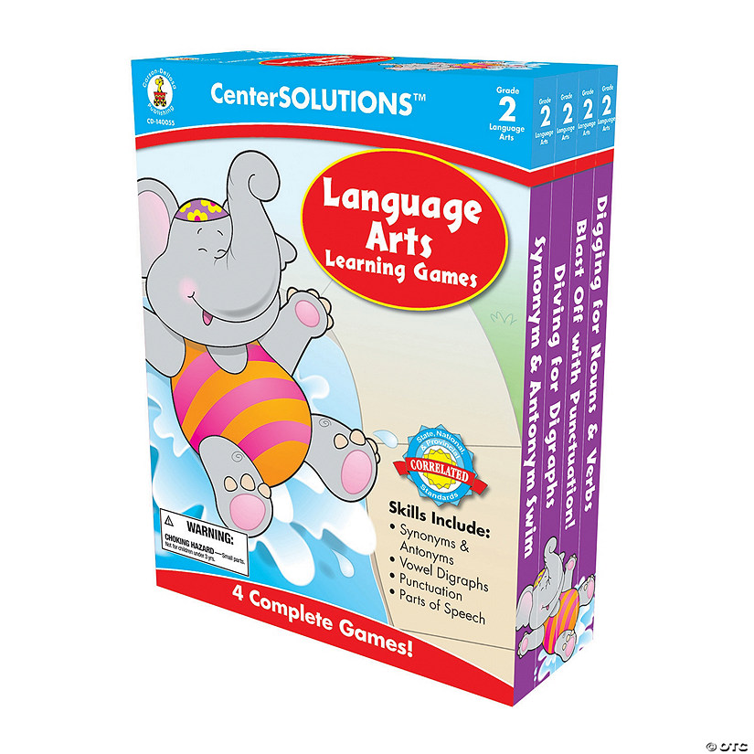 2nd Grade Language Arts Learning Games Set Audio Thumbnail