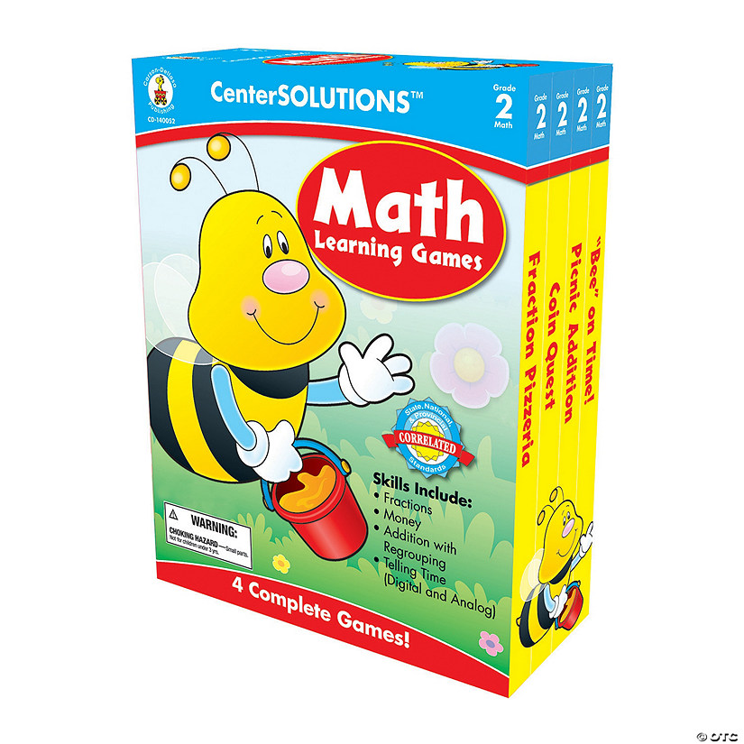 2nd Grade Math Learning Games Set Audio Thumbnail