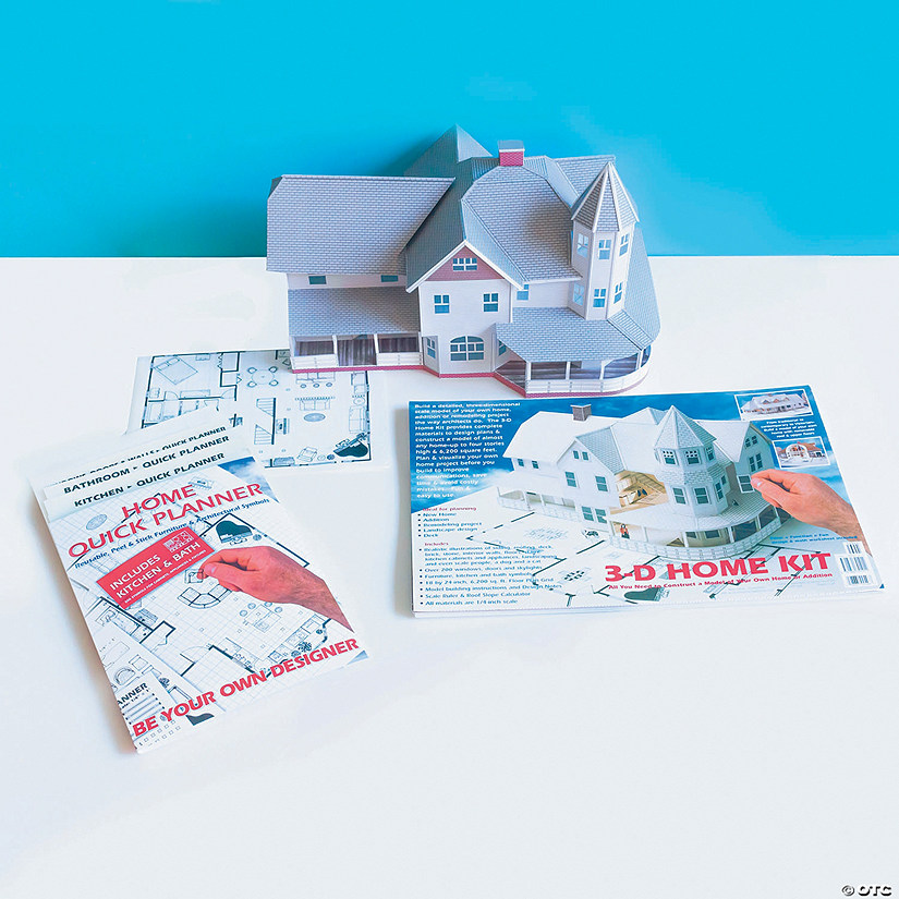 3-D Home Kit and 2-D Home Quick Planner: Set of 2