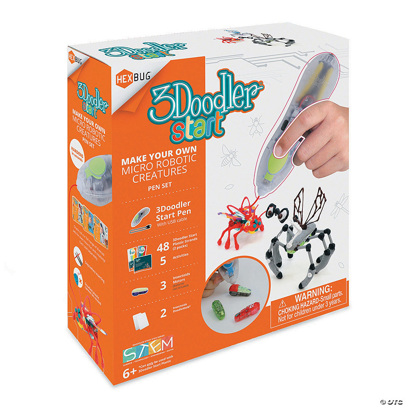 3 Doodler Make Your Own Hex Bug Set Image Thumbnail