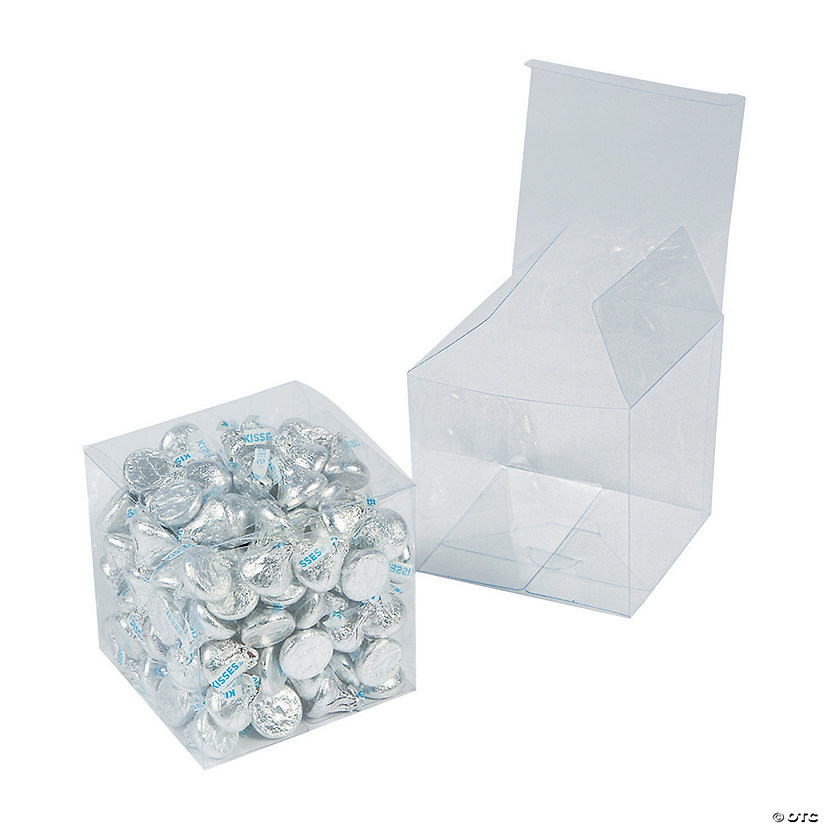"3"" Medium Clear Favor Boxes Image Thumbnail"
