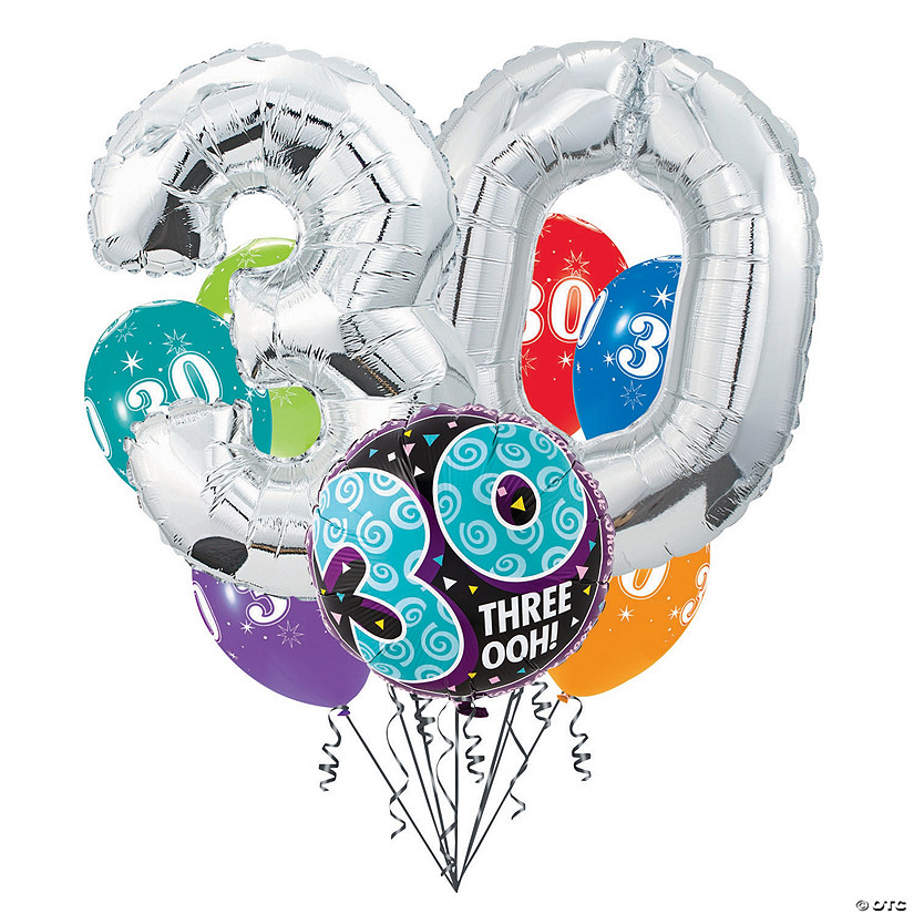 30th Birthday Balloon Bouquet Audio Thumbnail