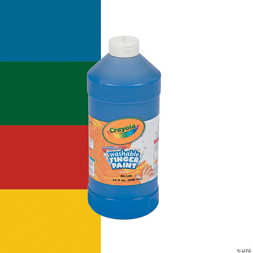 32-oz. Crayola® Washable Finger Paint