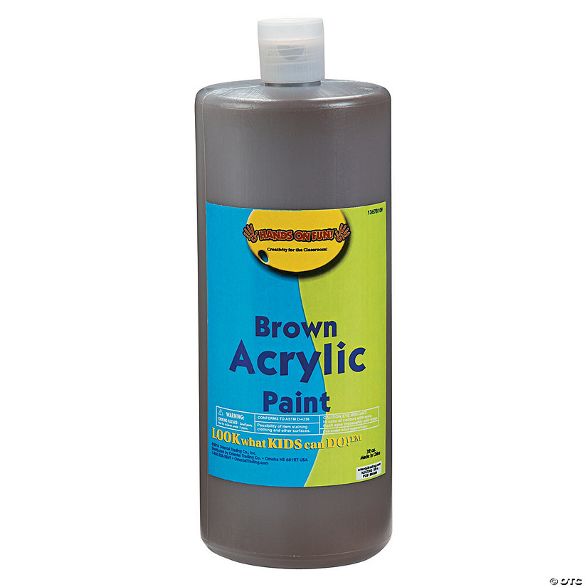 32-Oz. Washable Brown Acrylic Paint Audio Thumbnail