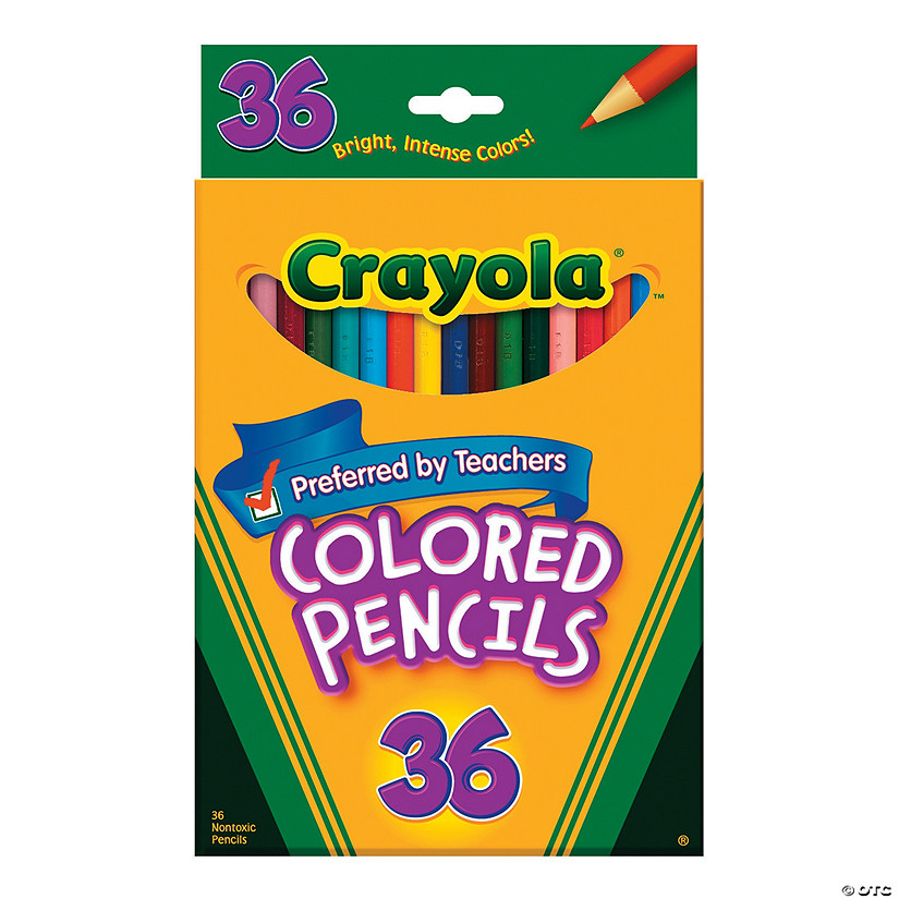 36-Color Crayola® Colored Pencils - 36 pcs.