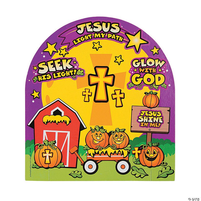 3D Christian Pumpkin Sticker Scenes Audio Thumbnail