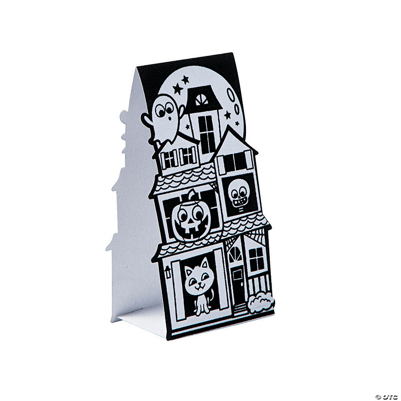 3D Color Your Own Fuzzy Haunted House Stand-Ups Audio Thumbnail