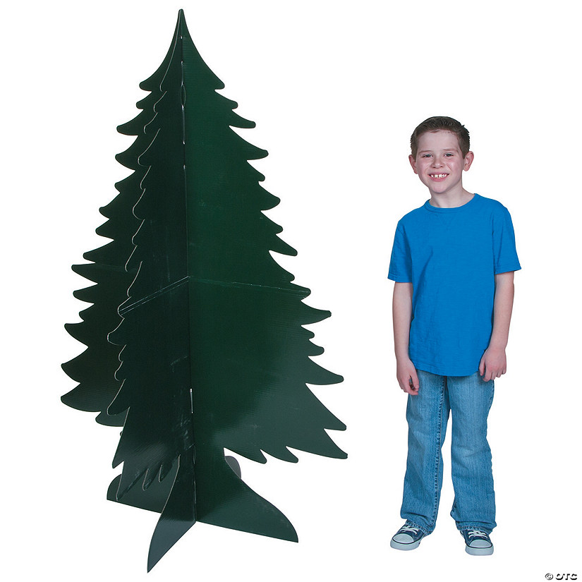 3D Evergreen Tree Cardboard Stand-Ups Audio Thumbnail