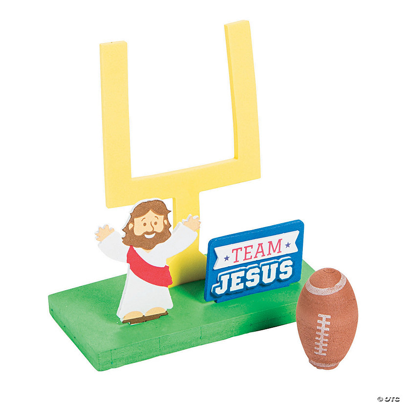 3D Faith Football Craft Kit Image Thumbnail