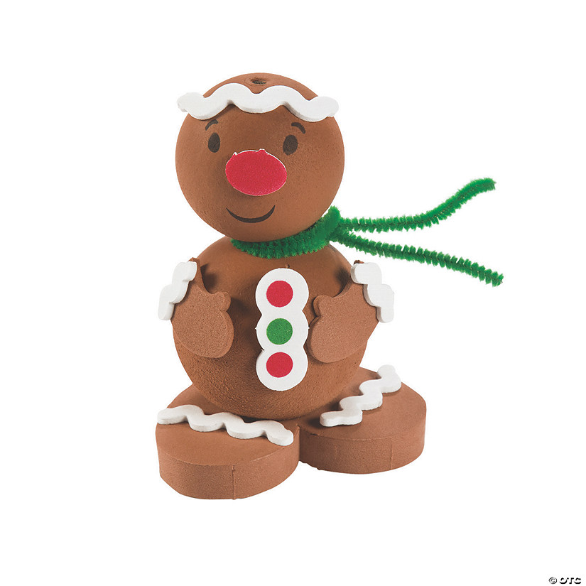 3D Gingerbread Man Craft Kit Audio Thumbnail