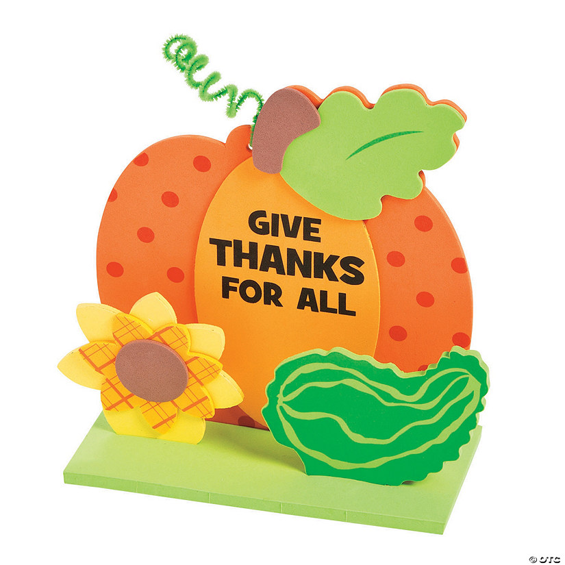3D Give Thanks Tabletop Decorating Craft Kit Image Thumbnail