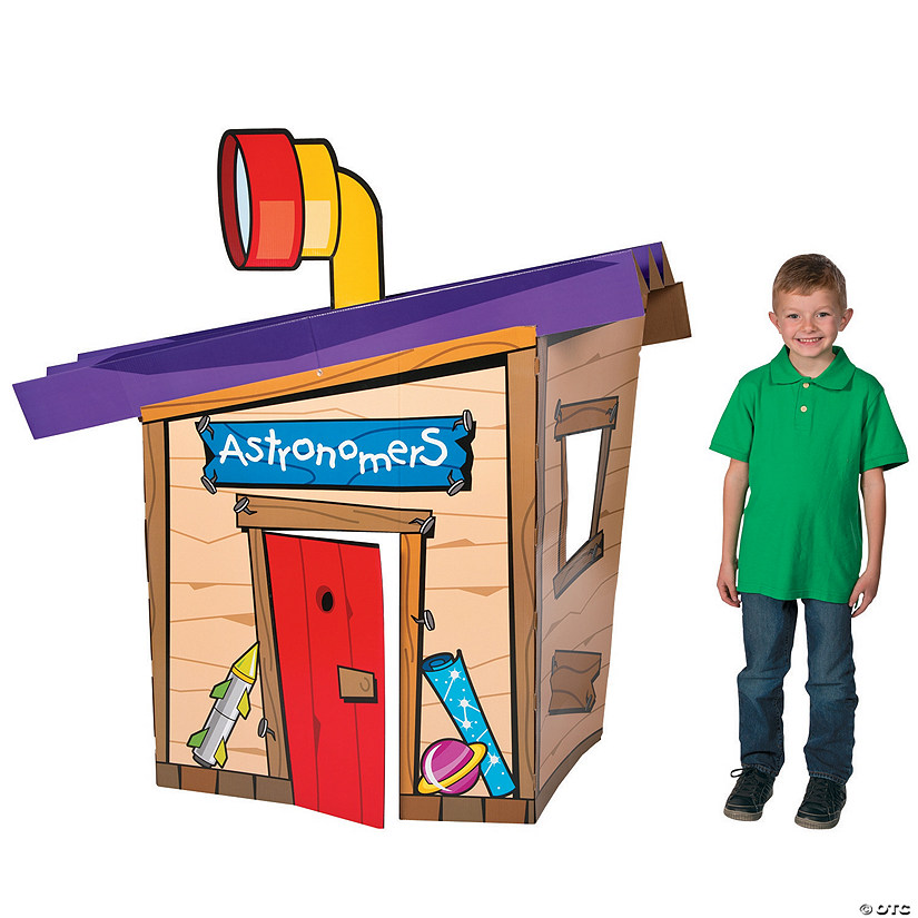 3D God's Galaxy VBS Clubhouse Stand-Up