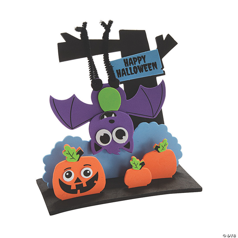 3D Happy Halloween Bat Craft Kit Image Thumbnail