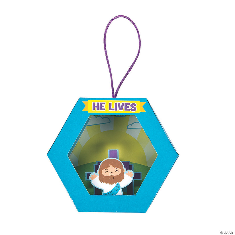 3D He Lives Ornament Craft Kit Audio Thumbnail