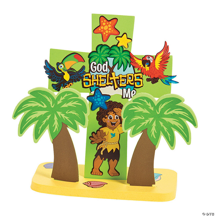3D Island VBS Cross Stand-Up Craft Kit Audio Thumbnail