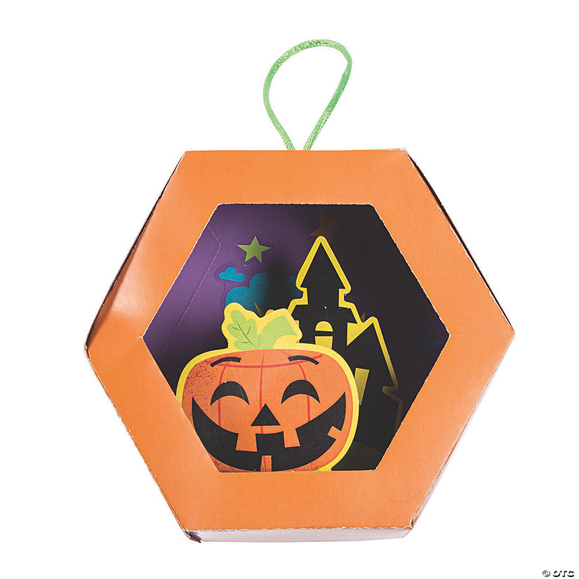 3D Jack-O'-Lantern Ornament Craft Kit Audio Thumbnail
