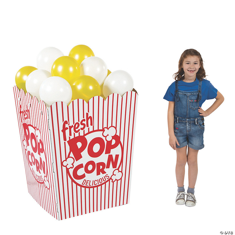 3D Popcorn Box Cardboard Stand-Up Audio Thumbnail