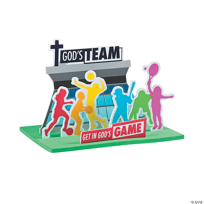 3D Sports VBS Craft Kit