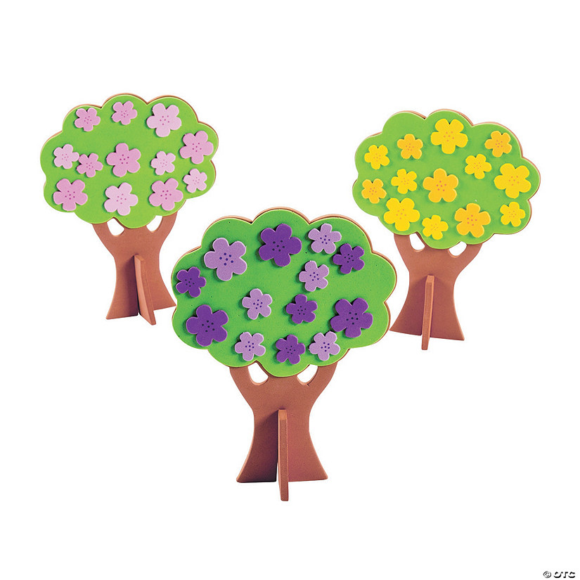 3D Spring Tree Craft Kit Audio Thumbnail