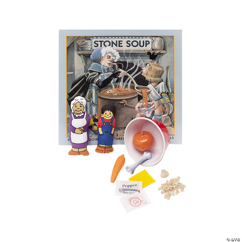 3D Storybook Stone Soup Audio Thumbnail