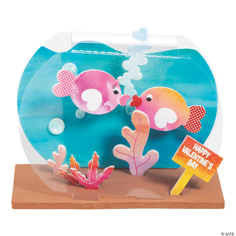 3D Valentine Fishbowl Craft Kit Audio Thumbnail