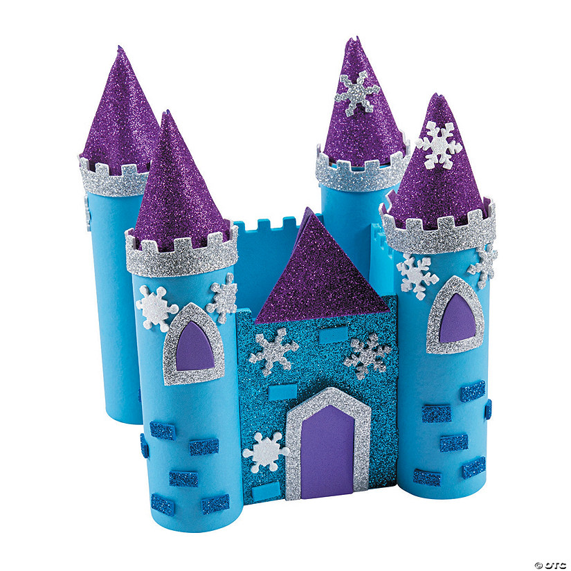 3D Winter Castle Craft Kit Audio Thumbnail