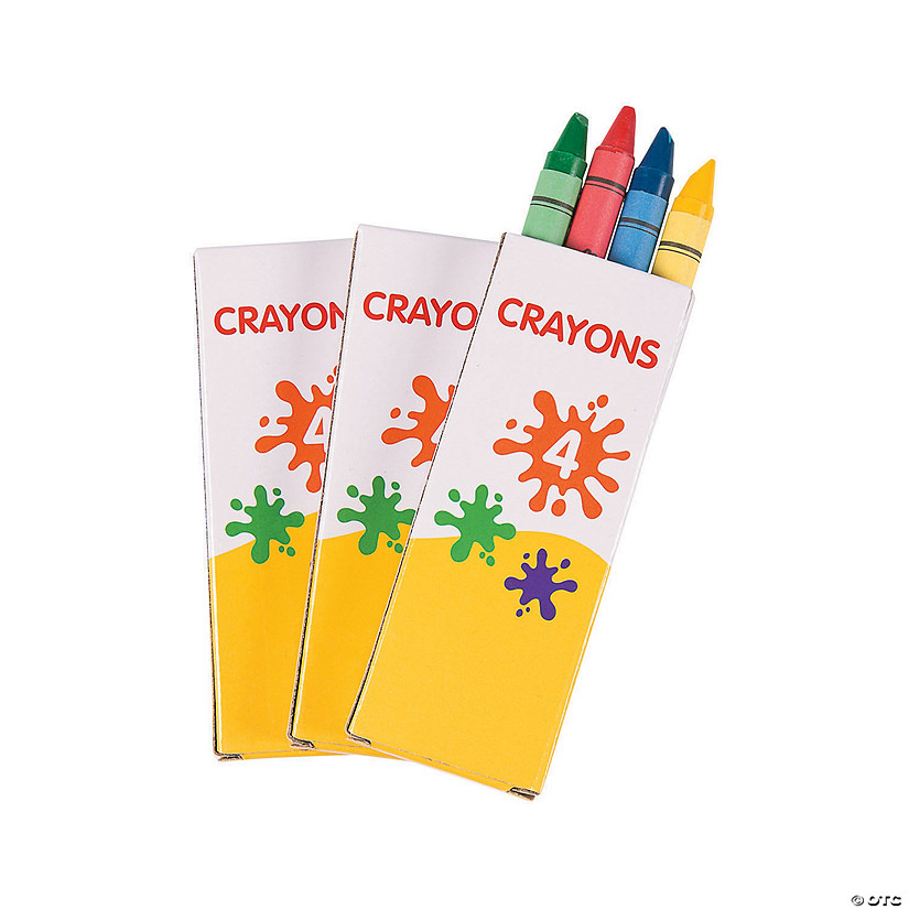 4-Color Crayons - 12 Boxes Audio Thumbnail