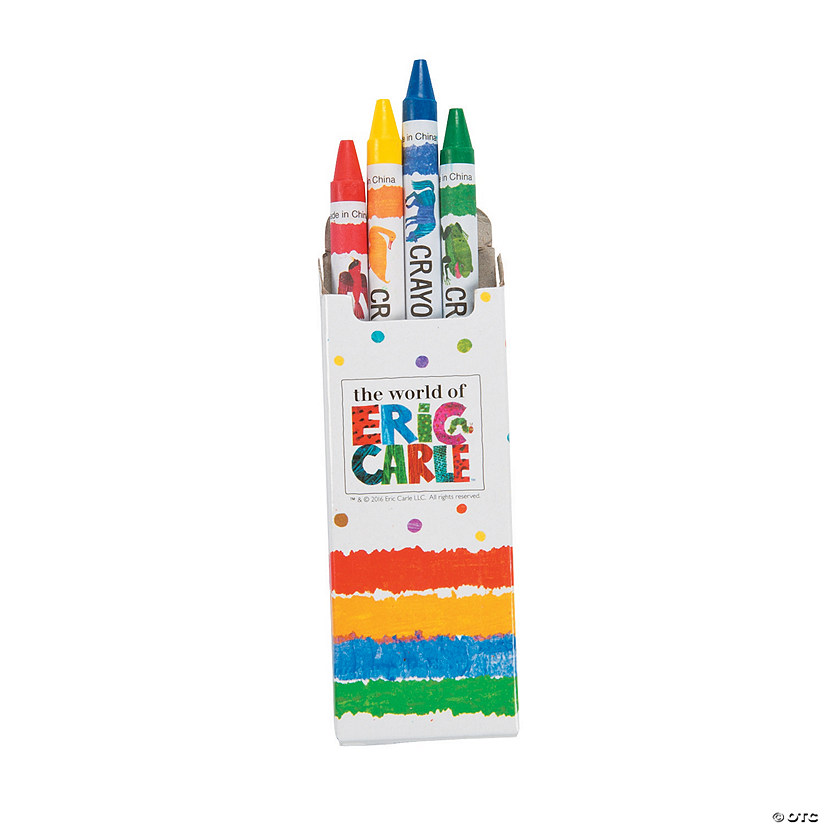 4-Color Eric Carle's Brown Bear, Brown Bear, What Do You See? Crayons - 24 Boxes Audio Thumbnail